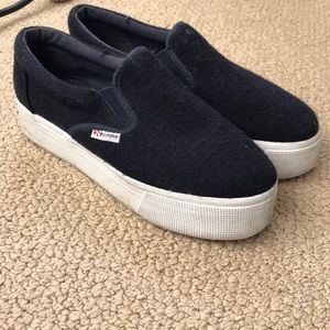 Superga platform shoes!